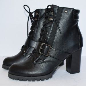 Vera Wang Pintail High Heel Ankle Boots